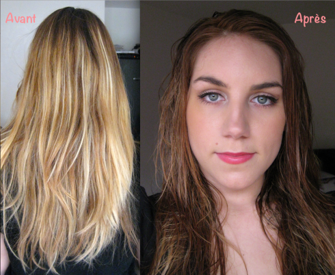 Avant Apres Coloration Preference Mousse Absolue n°730 L'Oréal Paris Melting Pot Au Feminin