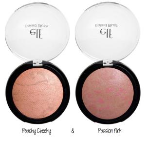 Blush test blush marbre Peachy Cheeky Passion Pink ELF Melting Pot Au Feminin